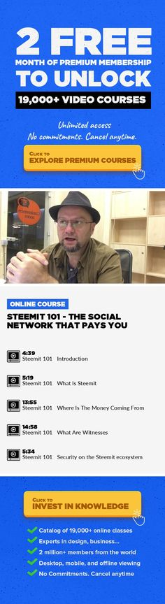 """Steemit 101 - The Social Network That Pays You Business, Freelance #onlinecourses #onlinelearningbenefits #onlinelearningeducation   Steemit.com is a blockchain-based social network. While still in beta, the project attracted a significant user base and it grew fast. Although on the surface it looks just like a """"normal"""" social network, like reddit or twitter, under the hood things are way more com..."""