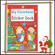 Livre d'autocollants Enfants Noël Stickers pre School student activité coloriage…