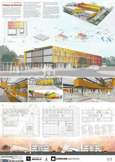 Here are the winning projects and mentions the National Architecture Competition for Public Elementary Education Center (EFC), organized and promoted by CODHAB-DF, to be built in Riach . Architecture Jobs, Architecture Concept Drawings, Education Architecture, Chinese Architecture, Architecture Portfolio, Futuristic Architecture, Sustainable Architecture, Architecture Diagrams, Rendering Architecture