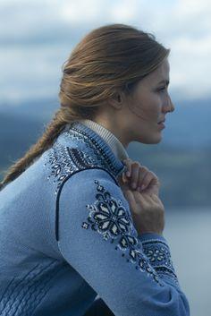 Femme Gilet Solfrid Feminine Jacket Dale of Norway