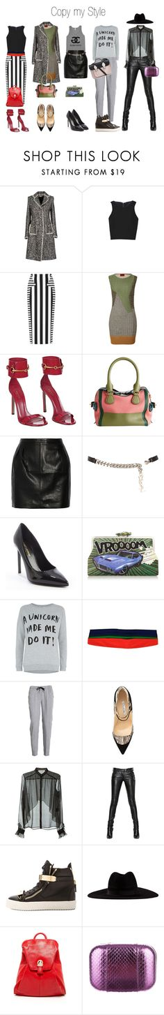 """Copy my Style"" by fashionistatrendy ❤ liked on Polyvore featuring Swap Inside, TIBI, Cushnie Et Ochs, Missoni, Dolce&Gabbana, Burberry, BLK DNM, Yves Saint Laurent, Sarah's Bag and CÉLINE"