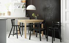 De IKEA PS 356+ BRASA hanglamp geeft gericht licht en is daardoor handig voor het verlichten van de eettafel of de salontafel. #IKEA