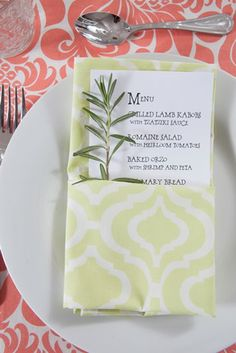 Spring Placesetting | Hen House Linens