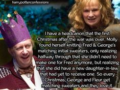 I have a headcanon that the first Christmas after the war was...