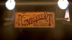 Rumbleseat -The Sadies by Mike Roberts.