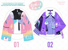 Manga Clothes, Drawing Anime Clothes, Anime Outfits, Cute Outfits, Kawaii Dress, Anime Best Friends, Pretty Designs, Character Outfits, Kawaii Fashion