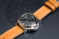 –Watches are obsolete, and beautiful. This one is from Panerai Luminor.
