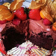 Ummmm det var deilig med mini sjokolade kake i Daysis Cupcakes
