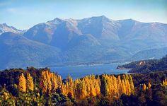 Esquel: otoño en el lago Futalaufquen