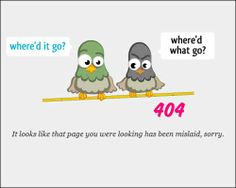 Funny Highly Creative Error 404 Pages for 2014