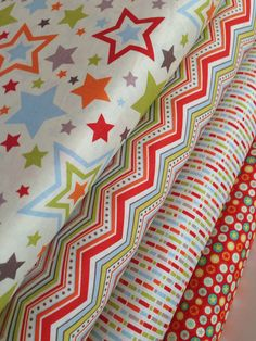 One For The Boys Stars quilt or craft fabric by Zoe Pearn for Riley Blake Designs- Fat Quarter Bundle- 4 total on Etsy, $12.00