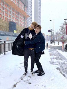 <NCT 127 Road to Japan> Memories#10-2 積もり始めた雪にはしゃぐ2人