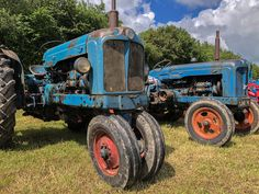 Fordson Majors Exhibiting At The Wiltshire Steam & Vintage Rally Farming, Rally, Industrial, Vintage, Tractors, Industrial Music, Vintage Comics