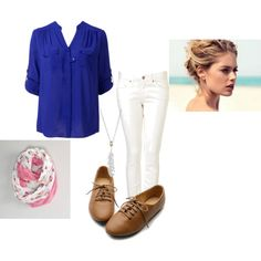 fall outfit with a a bun for the hair style