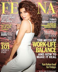 - Stunning and Talented actress Jacqueline Fernandez is looking hot and gorgeous on the latest spread of Femina and says she doesn't believe in luck. Hot Actresses, Beautiful Actresses, Indian Actresses, Hollywood Actresses, Bollywood Actress Hot Photos, Actress Pics, Bollywood Fashion, Bollywood Pictures, Bollywood Girls