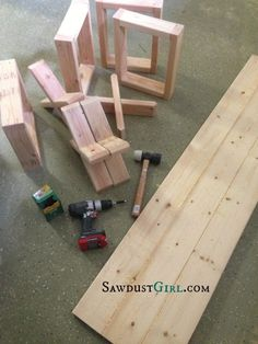 Build this bench with X legs for less than $20!