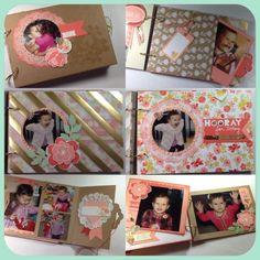 Mini Memories Simply Created Album Kit