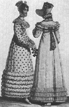 Jessamyn's Regency Costume Companion: Day Gowns