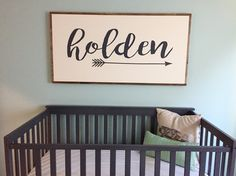 Large custom name sign rustic wood sign nursery decor kids room statement a Nursery Signs, Nursery Art, Nursery Decor, Nursery Ideas, Room Decor, Cute Baby Names, Boy Names, Baby Name Signs, Rustic Wood Signs