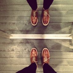 Grenson shoes - In the mirror