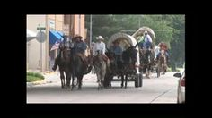 VIDEO. Mormon Wagon Train 2009.  Courtesy: Rural Heritage. Cedar Rapids, IA (USA)