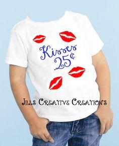 Valentine's day, t-shirts, Kisses
