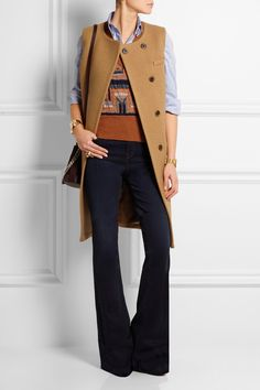 J.Crew   Collection Cora boiled wool gilet   NET-A-PORTER.COM