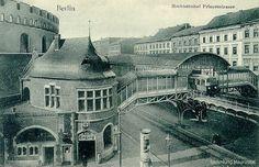 Historische Fotos: So schön waren Berlins U-Bahnhöfe