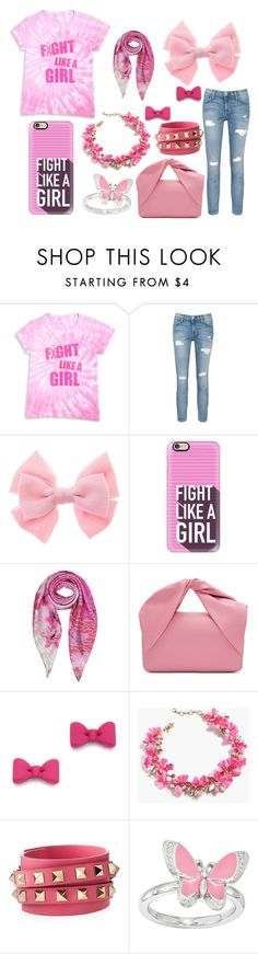 """""""Untitled #28"""" by queenofmusic598 on Polyvore featuring Current/Elliott, Casetify, Armani Jeans, J.W. Anderson, Marc by Marc Jacobs, J.Crew and Valentino"""