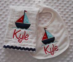 Great maryland baby gift maryland my maryland pinterest personalized nautical baby gift set of burp by mylittlehedgehog 2199 negle Choice Image