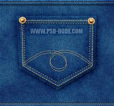Learn how to create denim texture in Adobe Photoshop from scratch using only… Photoshop Pics, How To Use Photoshop, Photoshop Brushes, Photoshop Tutorial, Photoshop Texture, Photoshop Actions, Scrapbooking Digital, Patterned Jeans, Layer Style