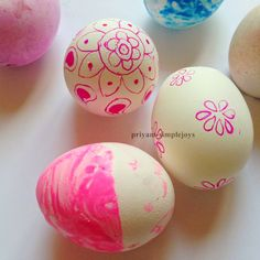 SimpleJoys: Coloring , Painting, Dying Eggs. The Ultimate Pinterest Party, Week 89