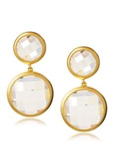 60% OFF Belargo Double Bubble Drop Earrings