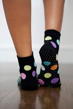 TOPSELLER! The Original 1/2 Toe Sock for Yoga, Pilates and Lounging Around (S/M Happy Tabi) $15.00