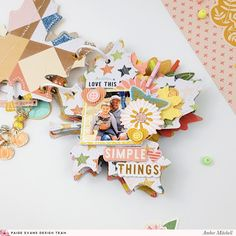 Diy Scrapbook, Scrapbooking, Accordion Fold, Different Textures, Leaf Shapes, Pattern Paper, Some Fun, Fun Projects, Autumn Leaves
