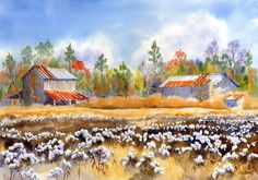Barns Back Home giclee - product images