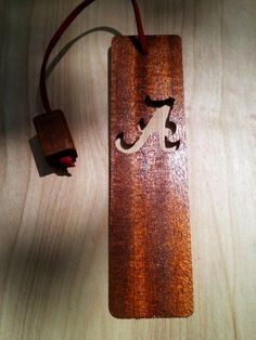 Wooden Bookmark by AtkinsFamilyCrafts on Etsy, $8.00