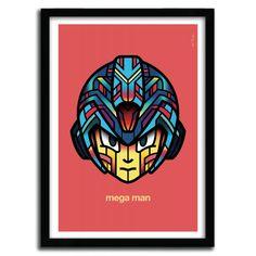 MEGA MAN ( RETROGAMES ) by Van Orton Design