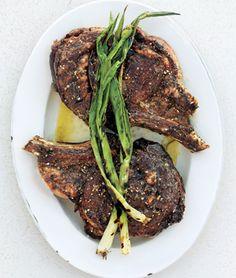Salt-and-Pepper Rib Eye Recipe - Epicurious & ZipList Rib Eye Recipes, Good Steak Recipes, Grilled Steak Recipes, Grilled Beef, Lamb Recipes, Grilling Recipes, Great Recipes, Cooking Recipes, Grilled Steaks