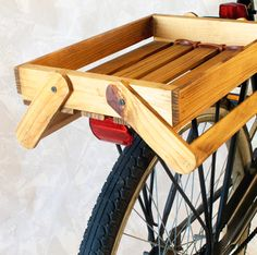 Version 2  -- Another way to attach a crate to your bicycle..  visit site for more details!  #DIY
