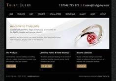 Bespoke jewellery website - designed and built by Coventry web design company, Design One For Me
