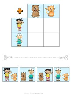 Find the matching combination! Great for teaching how to use a multiplication chart! Third grade math