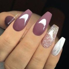 37 Pretty Nail Designs Ideas For Spring Winter Summer And Fa.- 37 Pretty Nail Designs Ideas For Spring Winter Summer And Fall For the past couple of seasons, gray continues to be a popular color for manicures and pedicures. Pretty Nail Designs, Acrylic Nail Designs, Nail Art Designs, Nails Design, Awesome Nail Designs, Dark Nail Designs, Marble Nail Designs, Elegant Nail Designs, Winter Nails