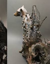 ellen jewett sculpture every works is very long to be finished because jewett spends months on the drawing and just when satified starts with real materials