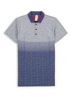 Purple Sand Formations Jacquard Polo   Polo Shirts   Ben Sherman