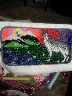 Tricut size 13 beads. Womans wallet  Amazing!