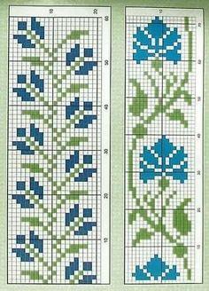 Cross Stitch Boarders, Tiny Cross Stitch, Cross Stitch Bookmarks, Cross Stitch Alphabet, Cross Stitch Flowers, Cross Stitch Designs, Cross Stitch Embroidery, Embroidery Patterns, Cross Stitch Patterns