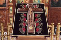Богородицерождественский мужской монастырь. Крест с частицей Животворящего Креста Господня.