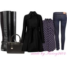 """""""Boots....Longsleeve...Coats..."""" by koivy2604 on Polyvore"""