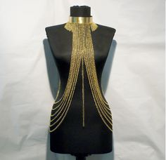 A personal favorite from my Etsy shop https://www.etsy.com/listing/108952951/gold-body-chain-body-jewelry-chain